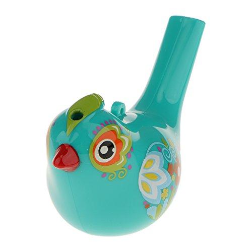 Sharplace Mehrfarbige Wasservogelpfeife Wasserpfeile Vogelpfeife Pfeile aus ABS-Kunststoff Spielzeug - Zufällige Farbe - 10 x 6cm