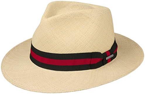 Stetson Rocaro Fedora Panama Hat Men Nature XXL 7 3 4 7 7 8 product image