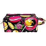 Anmarco Candy Lips Rosas Dulce Patrón de Artículos de tocador Bolsa de...