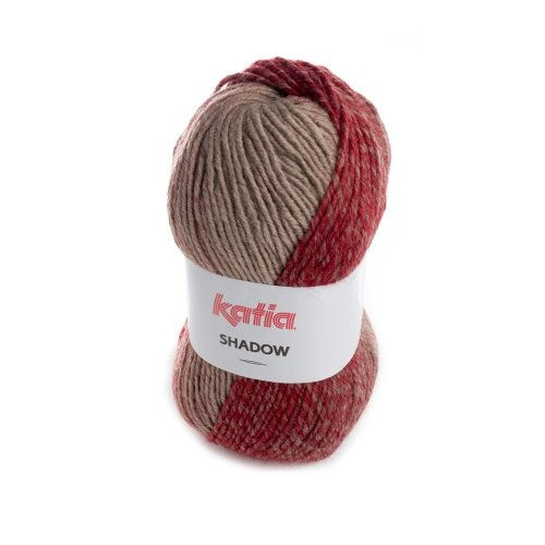 Katia Shadow – Color: Rojizo/marrón (60) – 100 g/aprox. 190 m lana