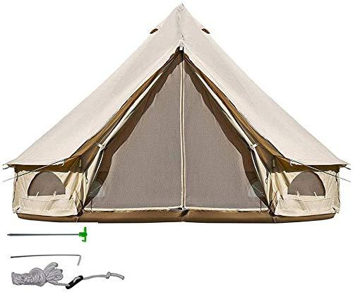 Tienda de campaña LAZ para camping Yurt tienda al aire libre grande campamento cama y desayuno multi-persona viaje hotel tienda