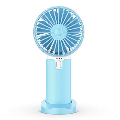 HOTPINK1 New Summer Mini Cooler Ventilador portátil silencioso USB recargable