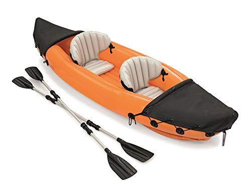 DEAR-JY Kayak,Canoa per Kayak Gonfiabile per 2 Persone,Canoa Adulta di Rafting di...