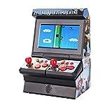 SJHPX Mini Arcade Game Machine, Retro Recreativa Arcade, 300 Classic Handheld Games FC Máquina, Home Consola de Juegos, para Familias, Fiestas, NiñOs, Adultos, 14.5 x 10.5 x 21 cm