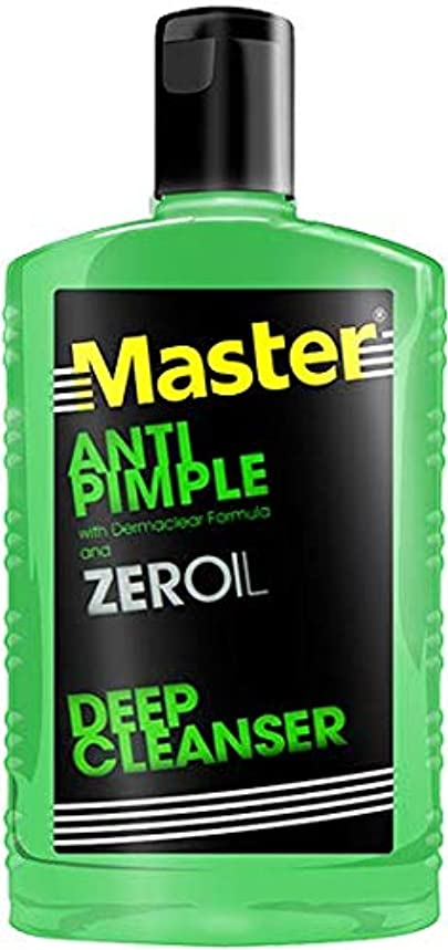 モーション咳勝利したMaster ANTI PIMPLE ZEROIL 135ml【PHILIPPINES】