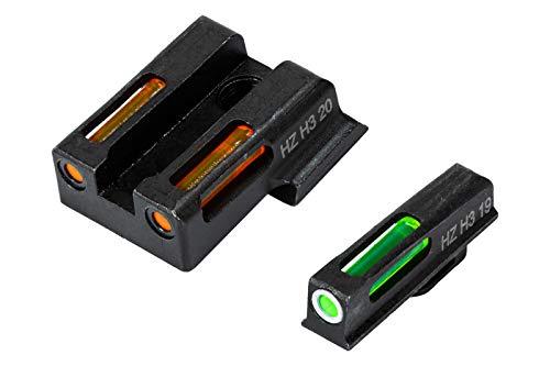 HiViz Litewave H3 Sight Tritium LitePipe Day/Night for S&W...