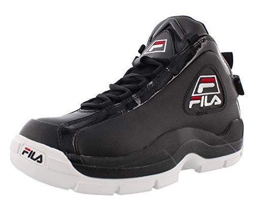 Fila Mens 96 Basketball Shoe Black 10