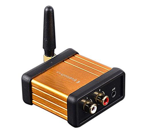 WINGONEER senza fili Bluetooth Audio Receiver Bluetooth V4.2 CSR64215 Supporto APTX per la musica in streaming Sound System Works with smart cellulari e tablet
