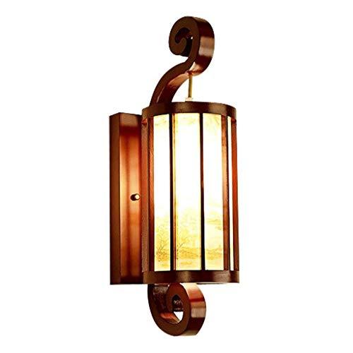 Wandverlichting, studeerkamer, licht, kantoor, slaapkamer, aisel, wand, nachtkastje, klassieke stijl, stabiele lamp, van massief hout, 50 x 20 cm, wandlampen