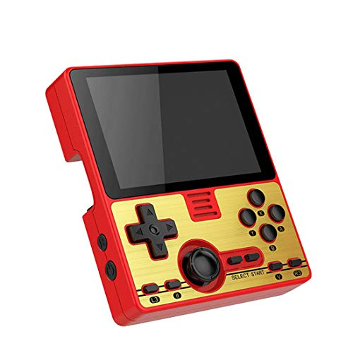 """POWKIDDY RGB20 Handheld Game Console, 3.5"""" IPS Full-Fit Screen Open Source Game Player Multiplayer Online Game, Built-in WiFi Module"""