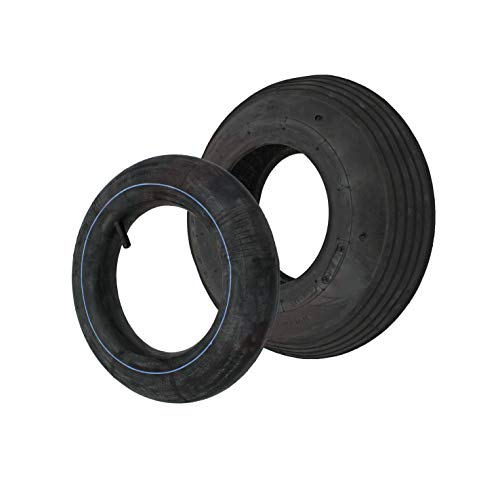 Reifen/Decke + Schlauch 3.50-6 332 x 94 mm Sackkarrenräder Sackkarre