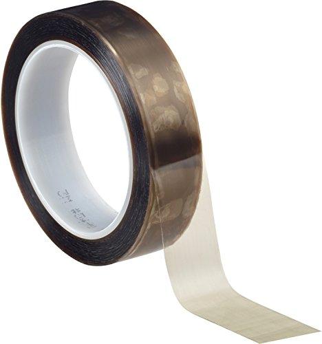 3M 5490 PTFE Klebeband, extrudiert, 50 mm x 33 m, Braun/Transparent (1-er Pack)