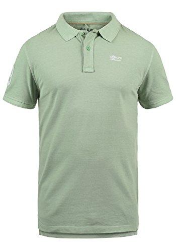 Blend Dave Camiseta Polo De Manga Corta para Hombre con Cuello De Polo De 100% algodón, tamaño:L, Color:Foam Green (77206)