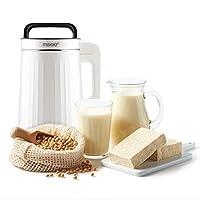 maxxo sojamaker mm01 - macchina per soia, per zuppe, latte di mandorle, latte di soia, vegan, zuppe, tofu smoothie e marmellate (mm01)
