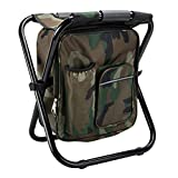 Folding Stool Backpack Insulated...