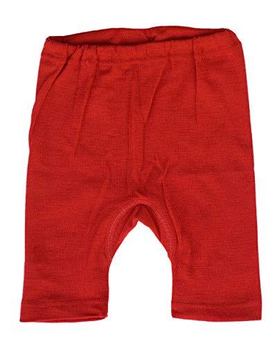 Cosilana, Kinder Bermuda/Radler, 70% Wolle 30% Seide (140, Rot)