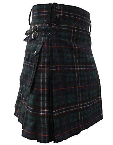 "UT Kilts""The Standard"" Tartan Utility Kilt, Hybrid Kilt - Scottish National"