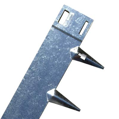 CORE Edge Lawn Edging 5m | Galvanised Flexible Steel | 65mm Face | Pack of...