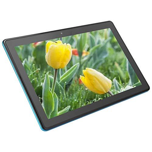 Tableta de 10 Pulgadas, Andriod 9.0 IPS LCD Pantalla de 10.1 Pulg, SC9863A de 8 Núcleos, Cámaras de 2MP+5MP, Llamada Telefónica 3G / 4G, Batería de 5000 MAh, con Bluetooth,FM,Tarjeta SIM, etc(EU)