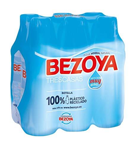 Bezoya Agua Mineral Natural, Pack 6 x 50cl