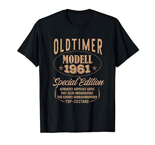 60. Geburtstag Mann Geschenk Oldtimer Jahrgang 1961 T-Shirt