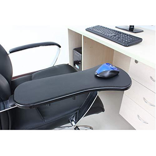 WJX Soporte de la Mano de la computadora, apoyabrazos del Resto de la muñeca, ergonómicamente diseñado ratón Pad Brazo-Soporte de Escritorio Extensor, Mesa y Silla de Doble propósito