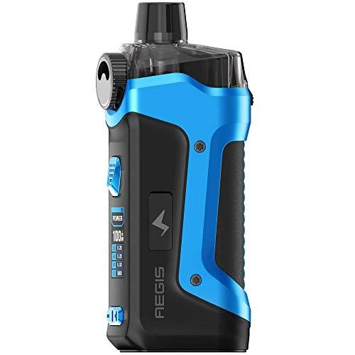 GeekVape Aegis Boost PRO Mod Pod Kit 100 W, Pod-System 6 ml, e-Zigarette, blau