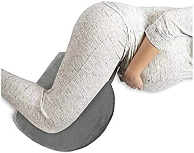 Clarabella Pregnancy Pillow - Wedge Shaped Side Sleeper Pillow - Maternity Back and Body Support Cushion - Makes for Expectan