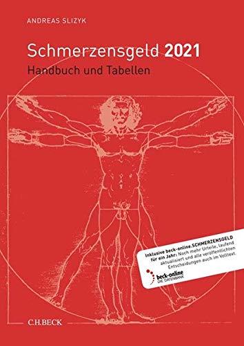 Schmerzensgeld 2021: Handbuch und Tabellen
