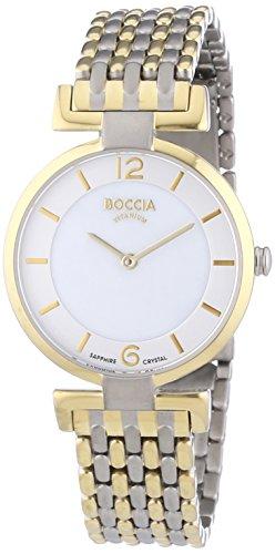 Boccia B3238-04 - Reloj de Cuarzo para Mujer, con Correa de