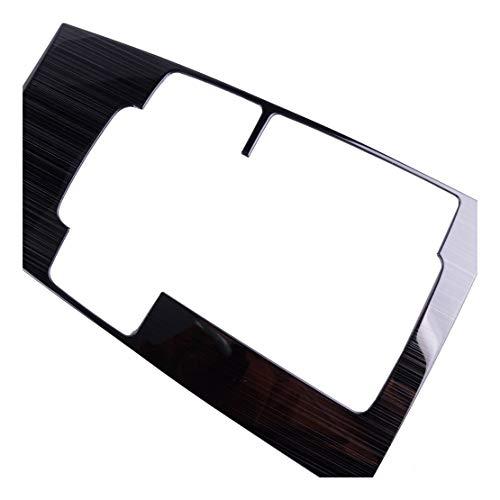 Yuanyuan DWCX Acero Inoxidable de Titanio Coche Interior Cambio de Engranaje de Bastidor de Caja Ajuste de la Cubierta Panel de Revestimiento de moldeo en Forma for el Mazda 3 2019 2020