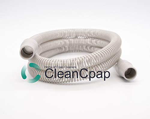 Clean Cpap Premium Universal 6ft Cpap Tube 72 inch Tubing by Clean Cpap Hose Resmed Respironics Compatible