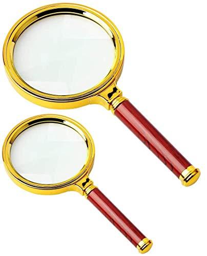 Functy Tasche portatili Magnifier 3x lenti dingrandimento lente dingrandimento per la lettura