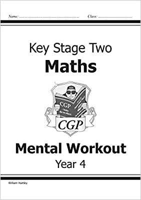 KS2 Mental Maths Workout - Year 4 (CGP KS2 Maths) from Coordination Group Publications Ltd (CGP)