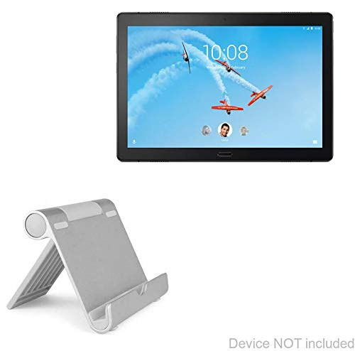 Lenovo Tab P10 Stand and Mount, BoxWave [VersaView Aluminum Stand] Portable, Multi Angle Viewing Stand for Lenovo Tab P10