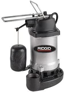 ridgid 1/3 hp sump pump