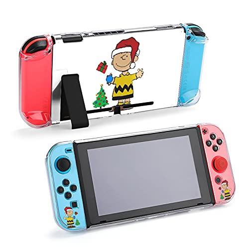 Charlie Brown Christmas 防砕けて Nintendo Switch 対応 カバー、switch 対応 カバーラウンドなシリコーン保護カバー 任天堂スイッチ カバー 対応 アクセサリ
