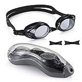 Lunettes de natation avec vision claire et anti-buée Protection UV anti-fuite Lunettes de natation...
