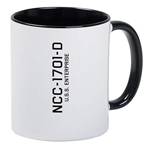 Enterprise NCC 1701 D Becher Einzigartige Kaffeetasse, Kaffeetasse