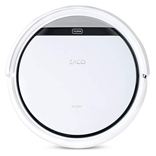 ZACO V3sPro - Robot aspirador con 4 modos de limpieza, fáci
