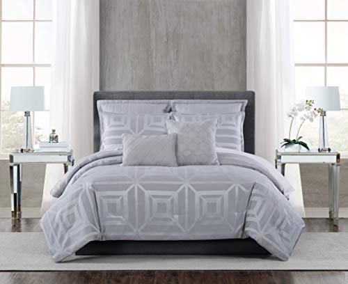 5th Avenue Lux Mayfair 7 Piece Comforter Set, King