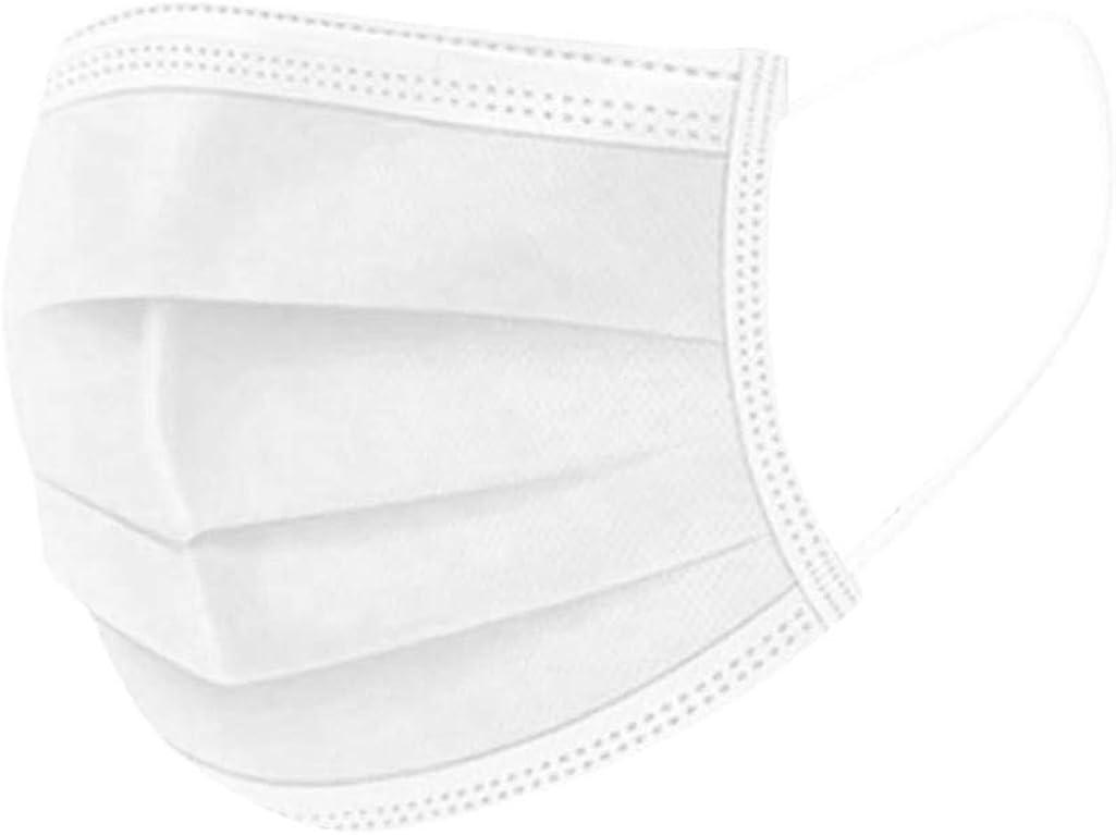 Bandana Face with Ear Loops, 50/100Pcs Comfortable Headband Big Grid Winter Warm Large Scarf Cotton Cloth