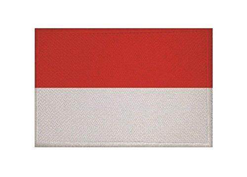 U24 Aufnäher Indonesien Fahne Flagge Aufbügler Patch 9 x 6 cm