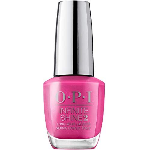 OPI Infinite Shine 2 Long-Wear Lacquer, Telenovela Me About It, Pink Long-Lasting Nail Polish, Mexico City Collection, 0.5 fl oz