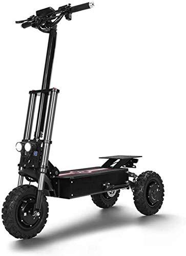 YZ-YUAN Scooter eléctrico portátil Plegable portátil para Adultos, Scooter eléctrico, Scooter Todoterreno,...