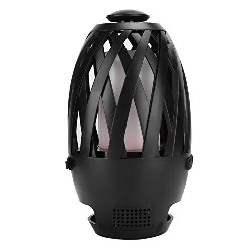 Ong Altavoz de Llama LED, Sistema de Sonido Envolvente, lámpara de Mesa, conexión en Serie V4.2 BTS596, Carcasa de plástico para Exteriores