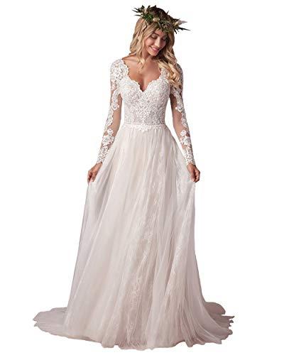Top 10 best selling list for long sleeve wedding dress