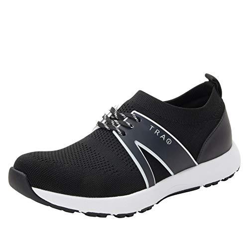 Alegria TRAQ Qool Womens Smart Walking Shoe Black 9 W US