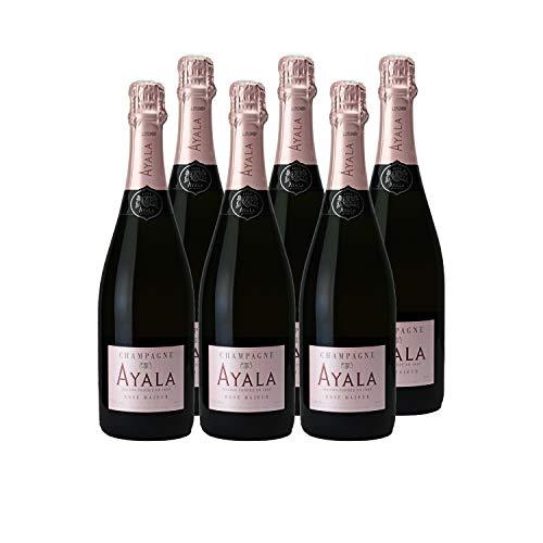 Champagne Rosé Majeur Rosé - Maison Ayala - Rebsorte Chardonnay, Pinot Noir, Pinot Meunier - 6x75cl - 90/100 Wine Spectator
