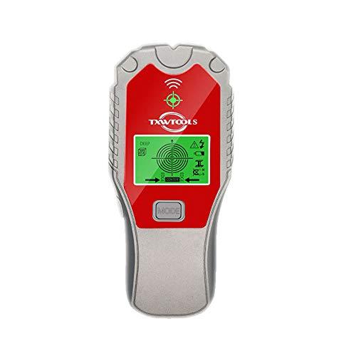 Detector de metales KKmoon Detector de metales de mano multifunción Perforación de pared Detección y posicionamiento de cables internos Detector de pared Escáner Herramienta de utilidad